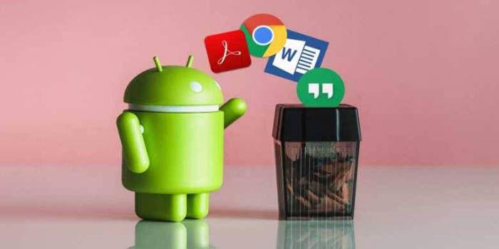 Como eliminar archivos para siempre en android
