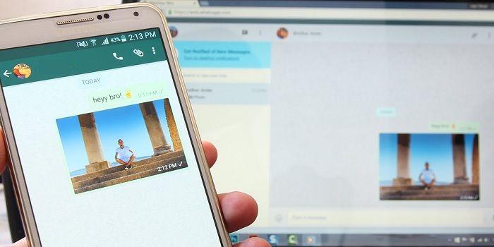 Cómo enviar mensajes de WhatsApp en una PC