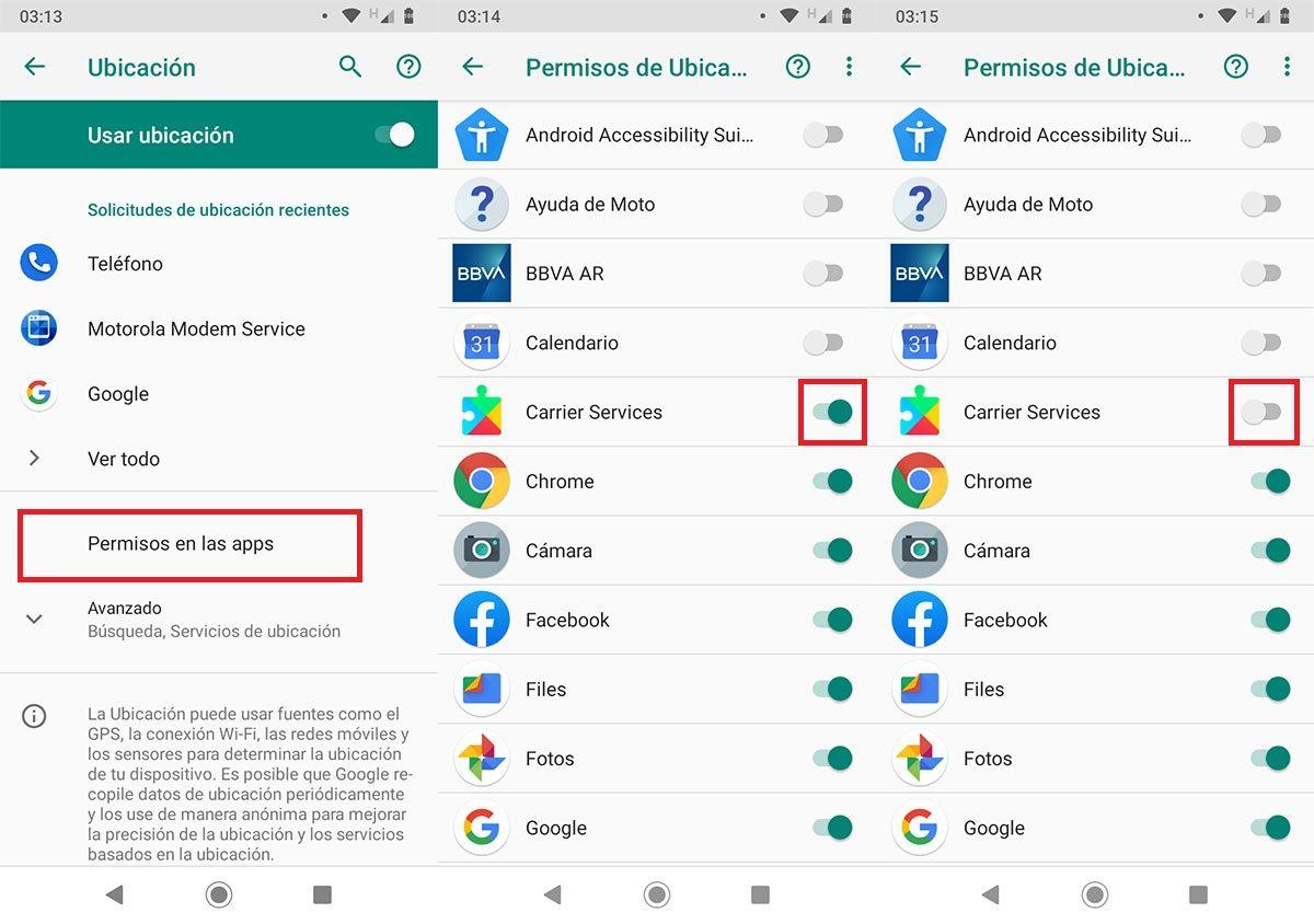 Como evitar que apps accedan a la ubicacion Android