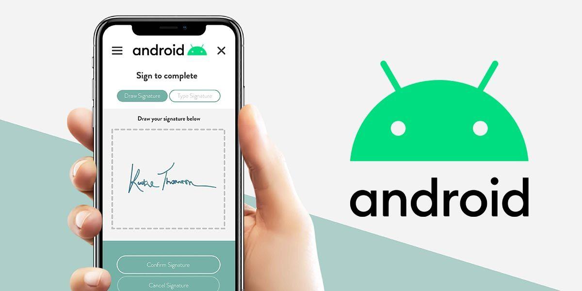 Como firmar un PDF en Android