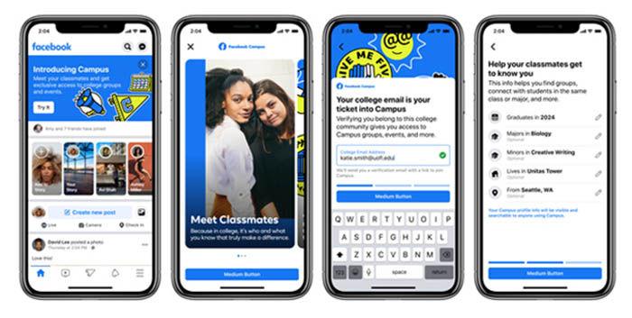 Como funciona Facebook Campus