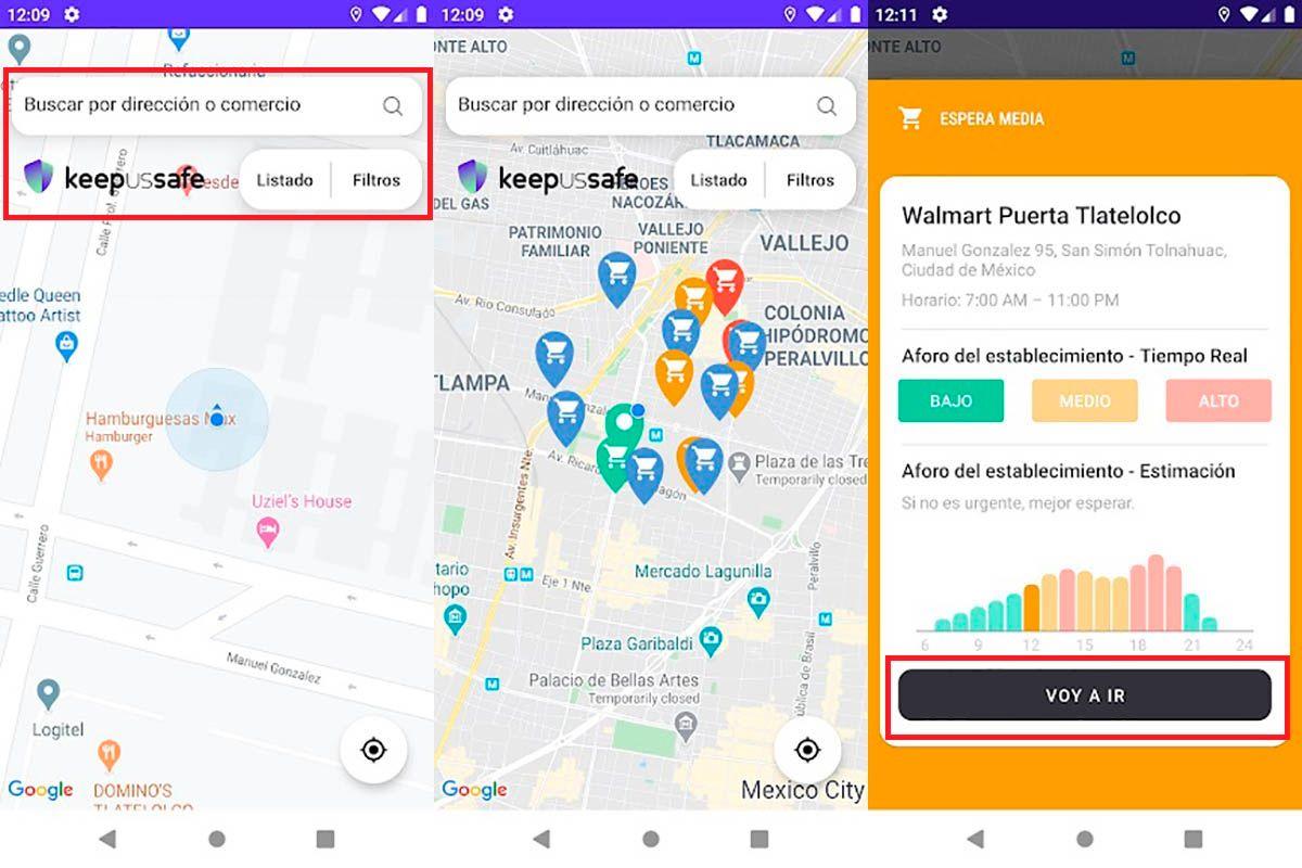 Como funciona KeepUsSafe Android