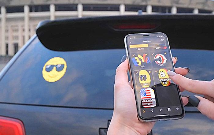 Como funciona pantalla LED para coches