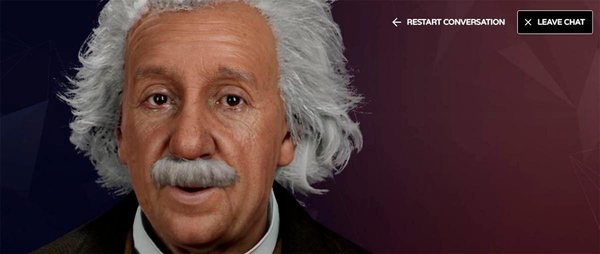 Como hablar con Einstein