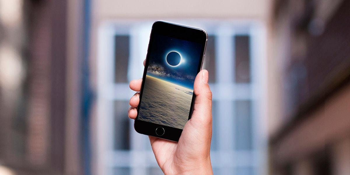 Como hacer fotos telefono eclipse solar