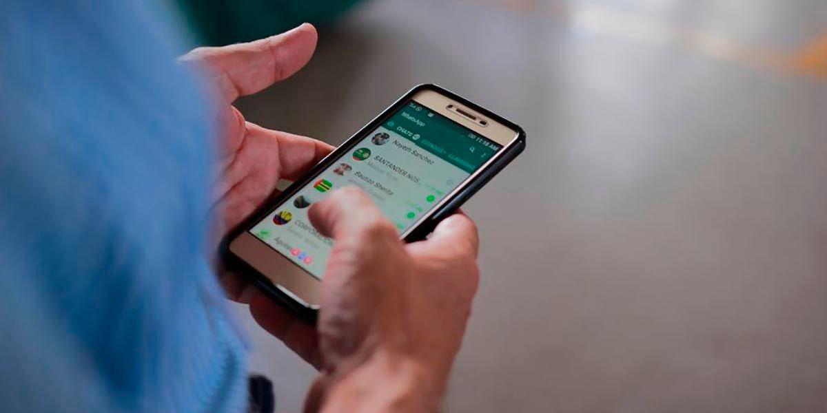 Como hacer una captura de pantalla completa en WhatsApp