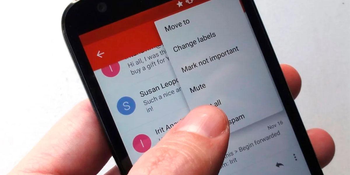 Como hacer una copia de todos los correos de Gmail