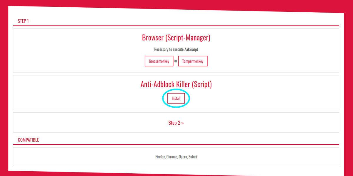 Cómo instalar Anti-Adblock Killer en tu navegador para poder entrar a Stardeos sin ver publicidad