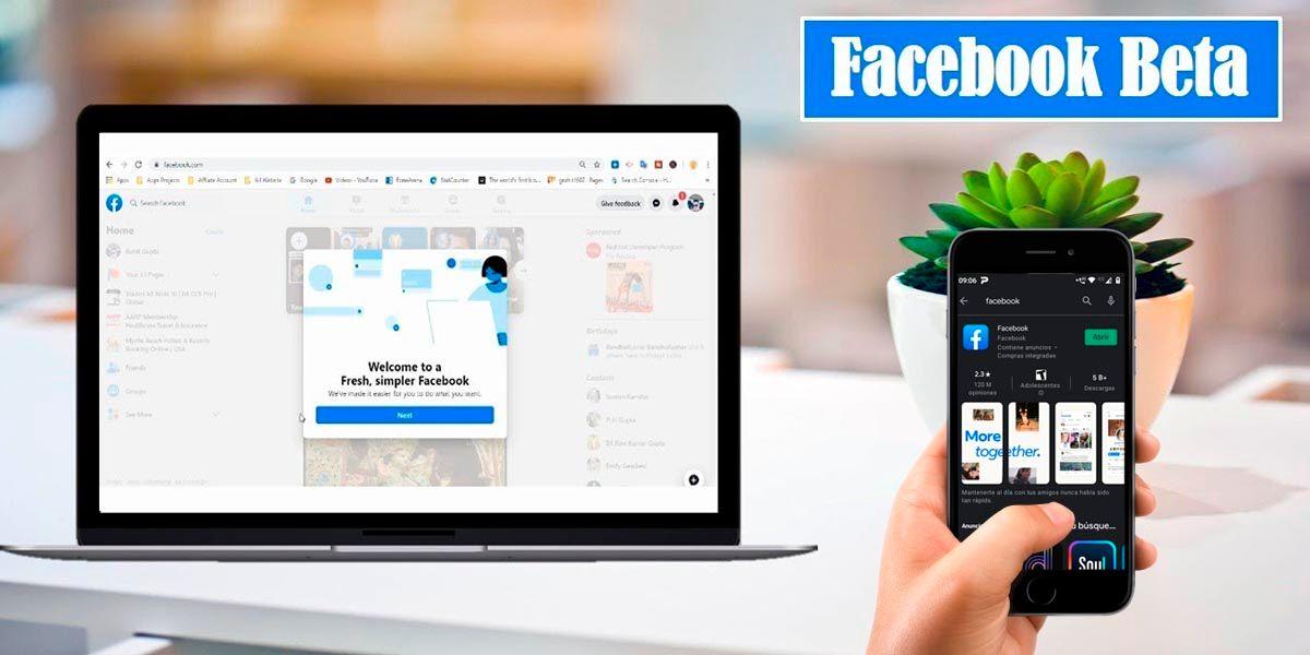Como instalar Facebook Beta en Android