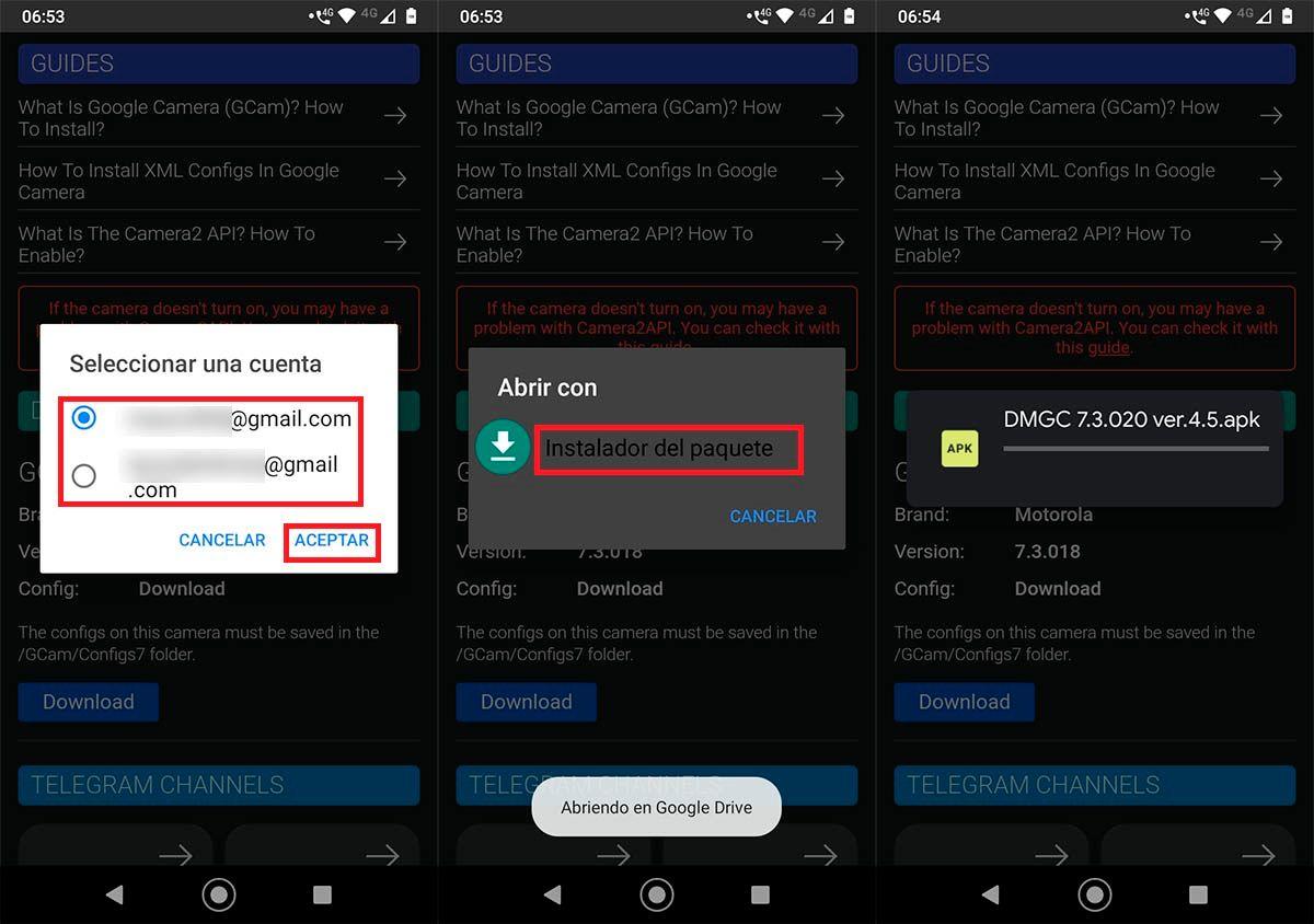 Como instalar GCam en Android