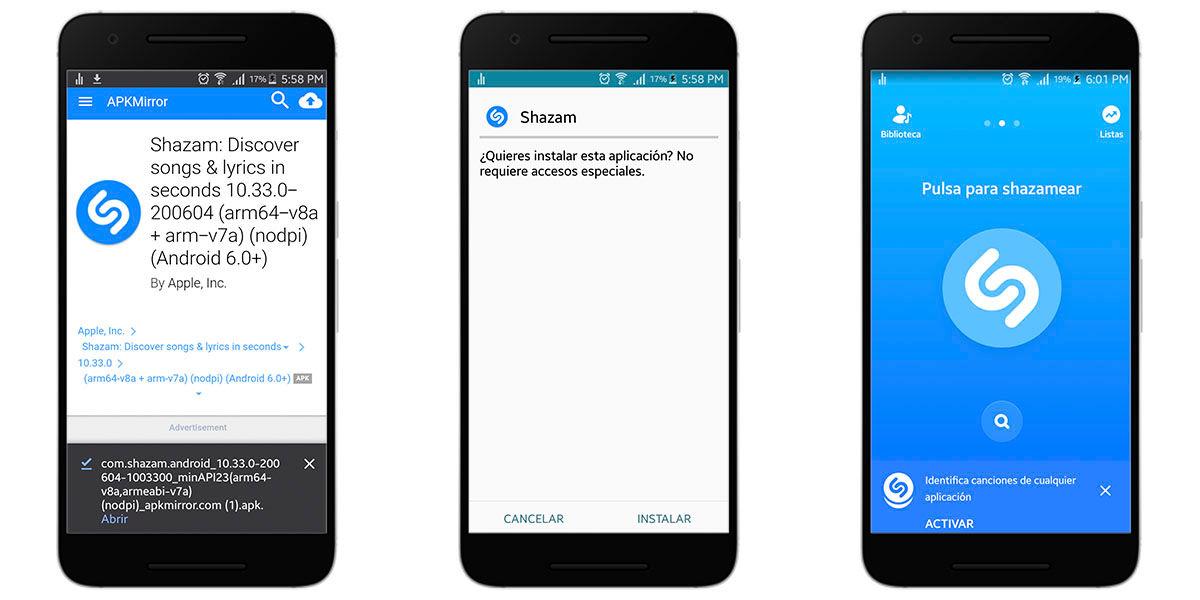 Cómo instalar en Android una versión anterior de una app