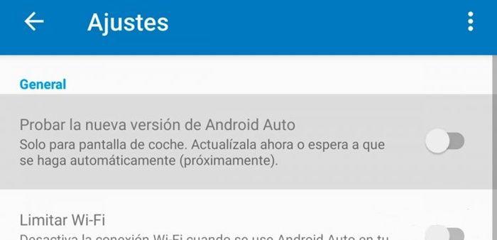 Como instalar la nueva versión de android auto