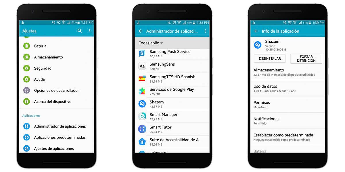 Cómo instalar una versión anterior de una aplicación en Android