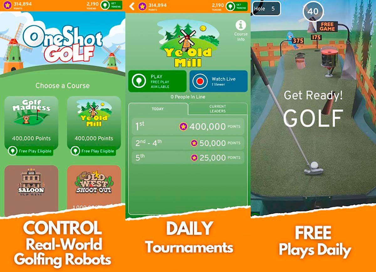Como jugar OneShot Golf