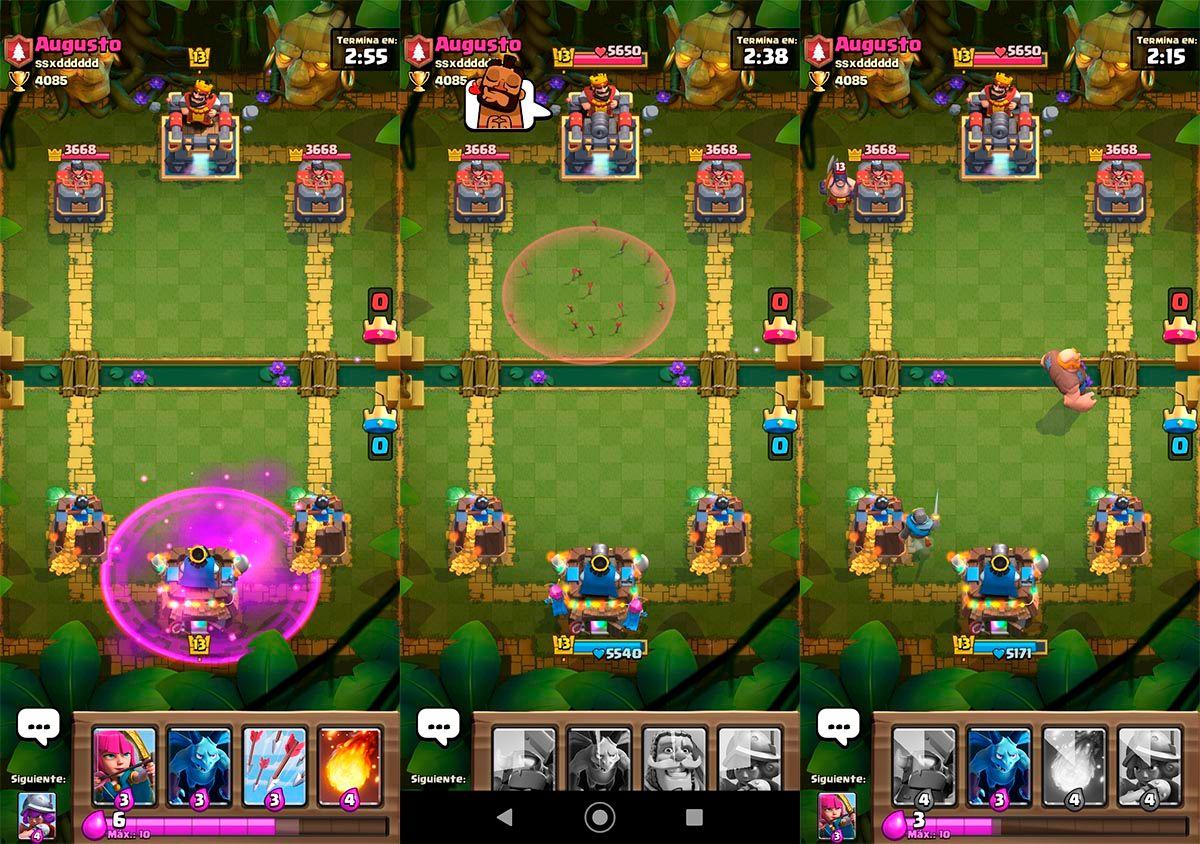 Como jugar a Clash Royale chino