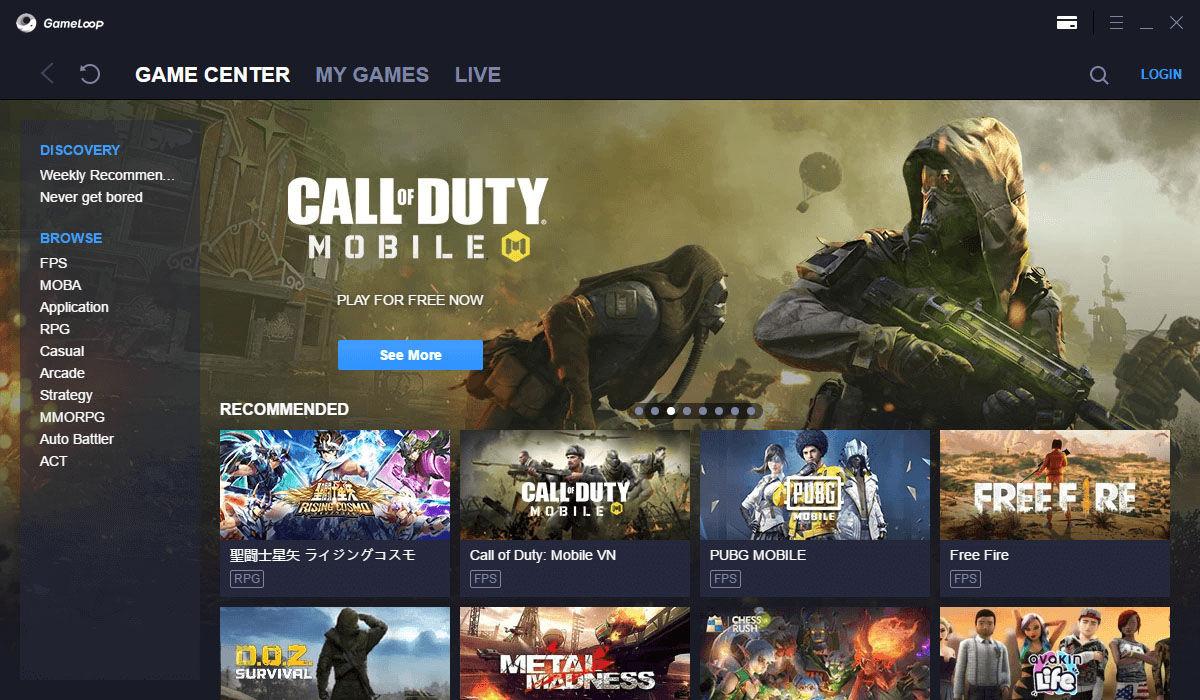 Cómo jugar a todos los juegos de la Play Store desde el emulador de Android para PC Gameloop