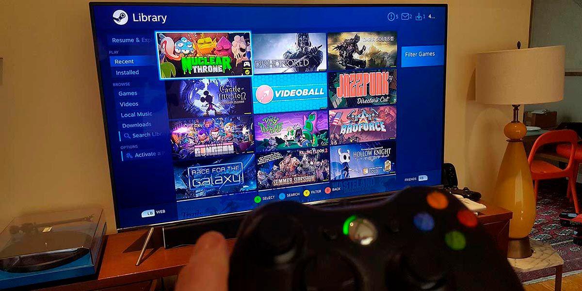 Como jugar a tus juegos de PC en Android TV con Steam Link