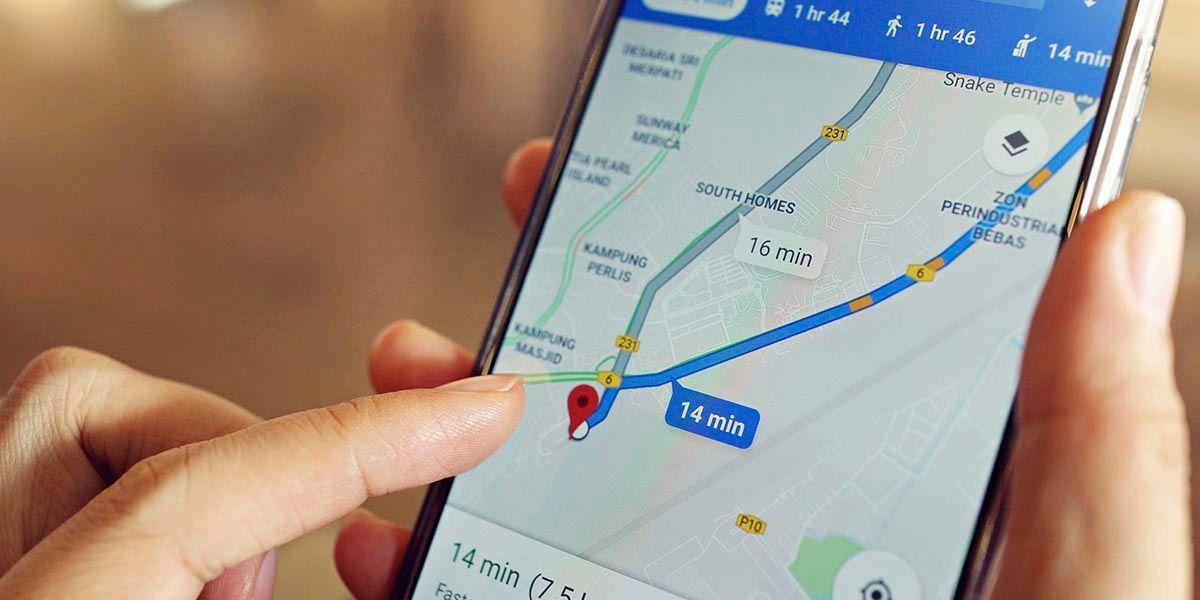 Como medir la distancia en Google Maps