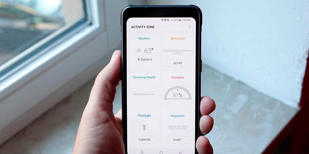 Como medir la presion atmosferica Android