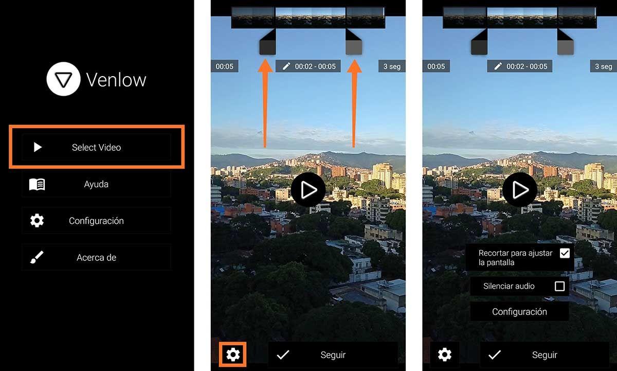 Como mejorar la calidad de los videos de WhatsApp con Venlow