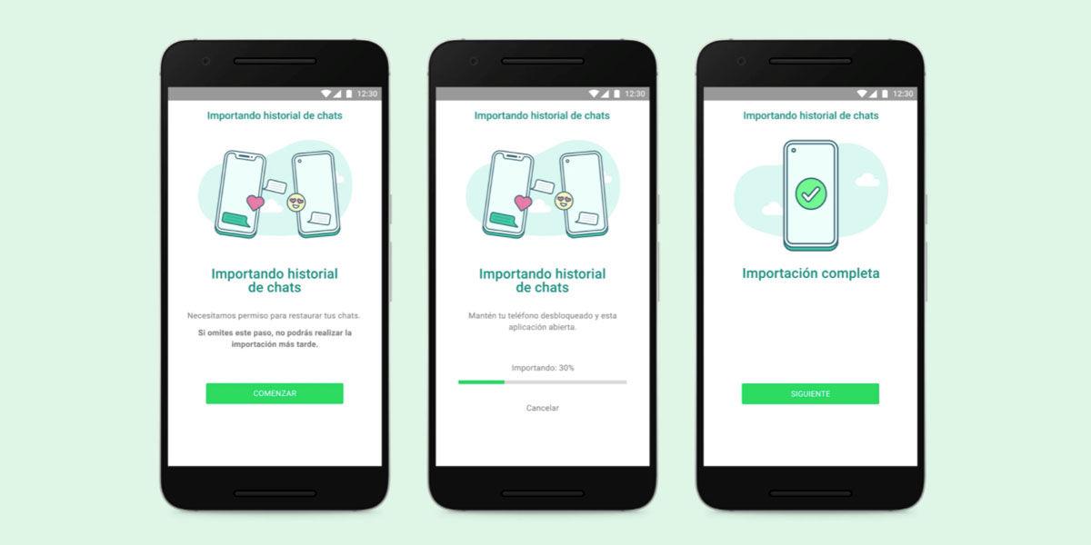 Cómo mover tus chats de Whatsapp de Android a un iPhone o iPad iOS
