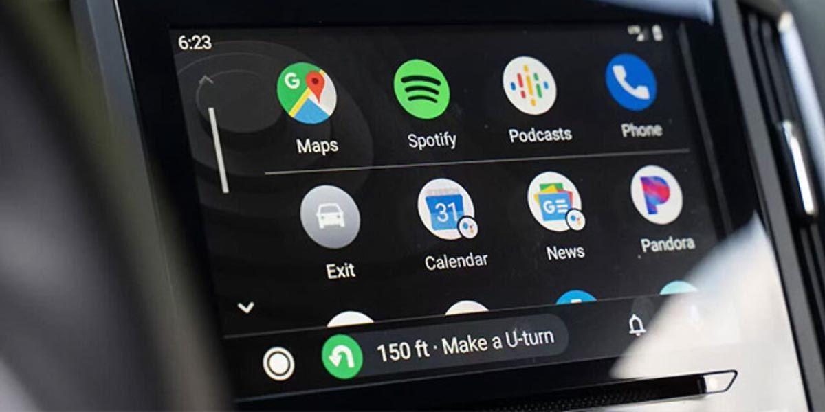 Como poner widgets en Android Auto con esta app