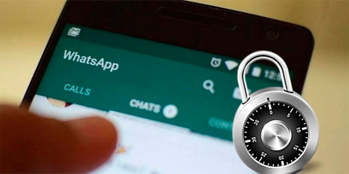 Como ponerle contrasena chats WhatsApp