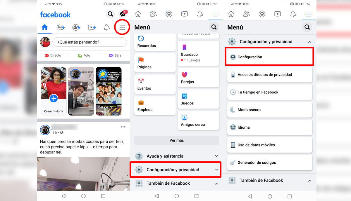 Cómo quitar a alguien de tu lista de contactos bloqueados en Facebook móvil