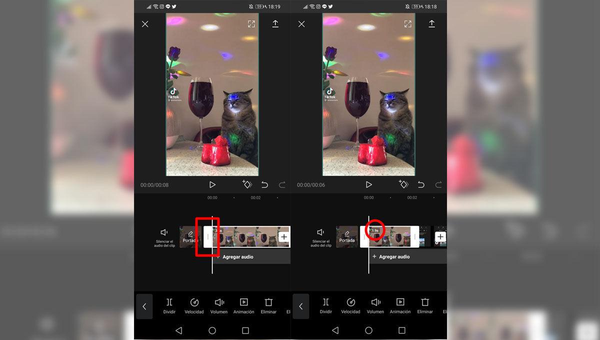Cómo recortar vídeos con la app de edición de vídeo CapCut