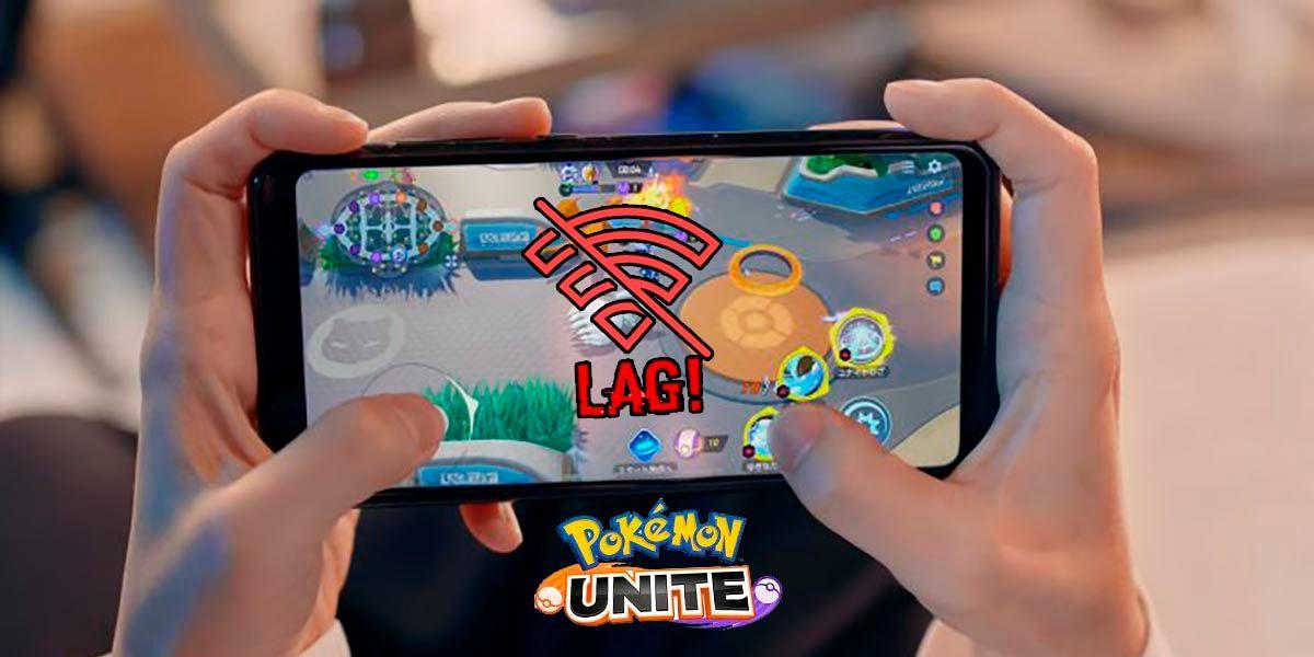 Como reducir lag Pokemon UNITE