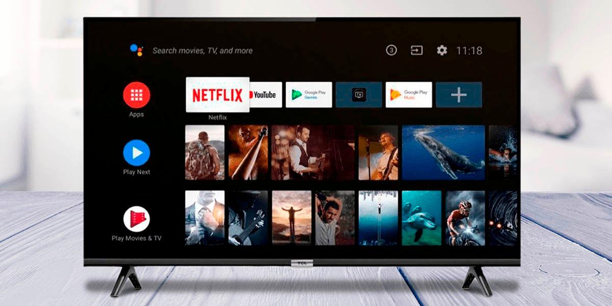 Como reiniciar televisor Android TV
