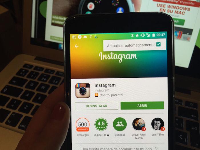 Como reinstalar Instagram Moto E5 Play