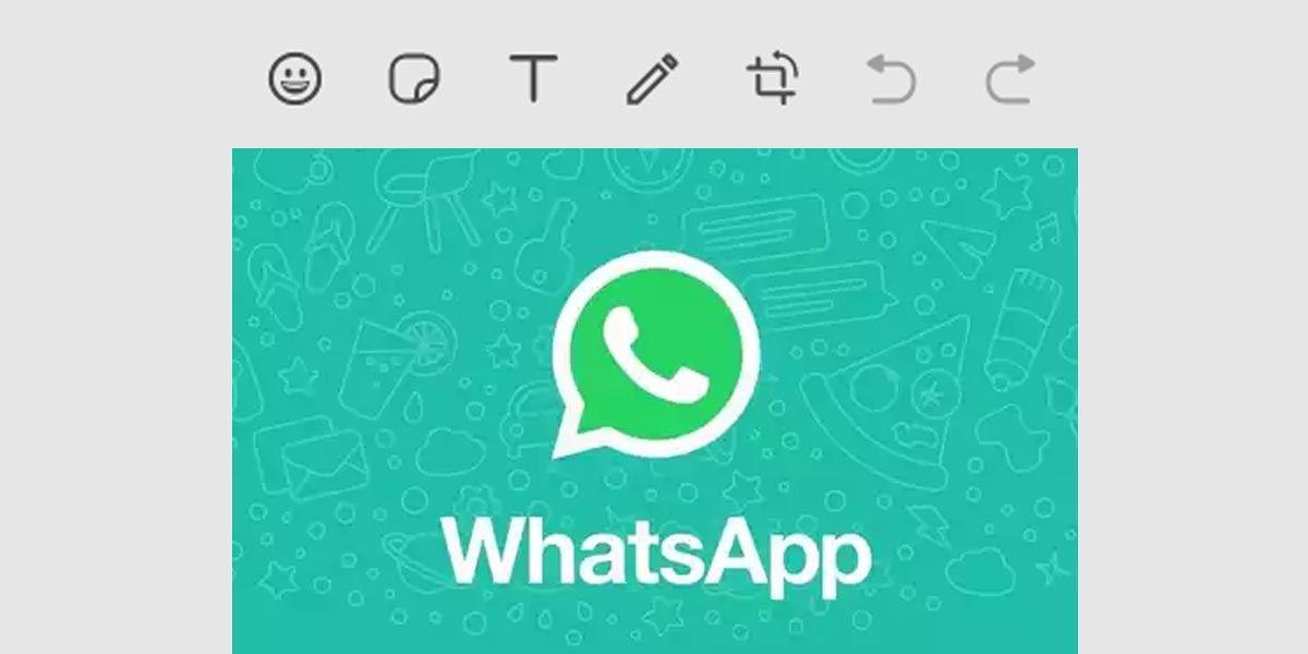 Cómo retocar tus fotos con pegatinas, emojis y texto desde WhatsApp Web para ordenador