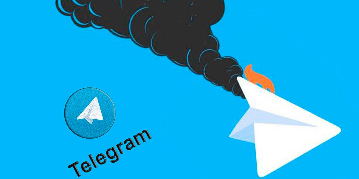 Como saber si Telegram se cayo
