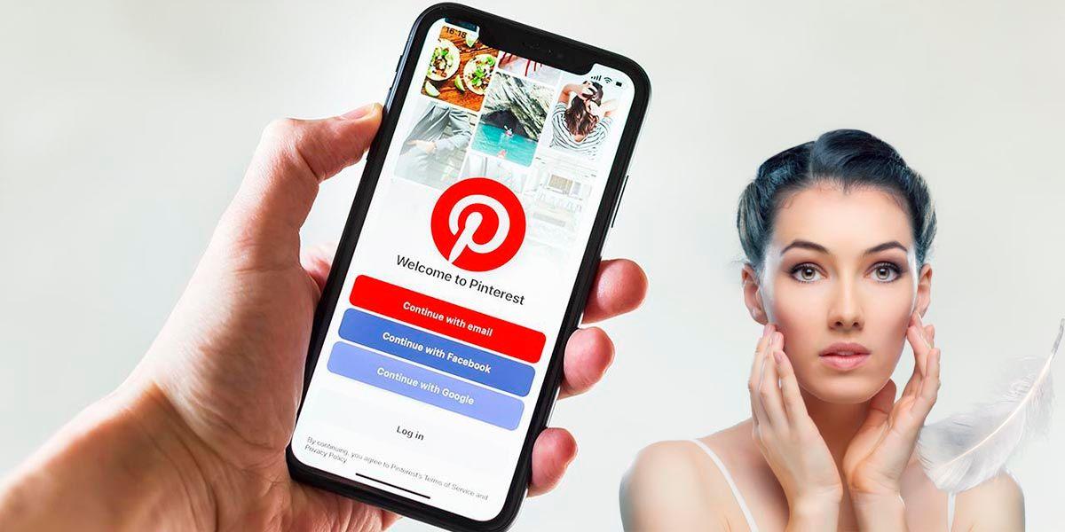 Como saber si eres guapo de cara en Pinterest