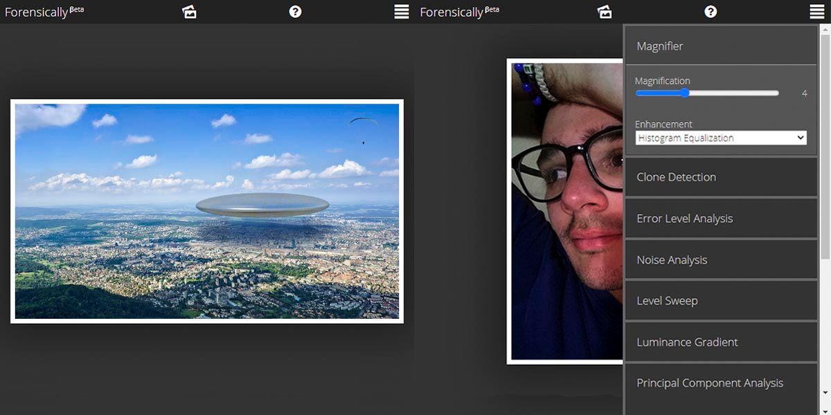 Cómo saber si las fotos que te envían por WhatsApp son falsas con Forenscically