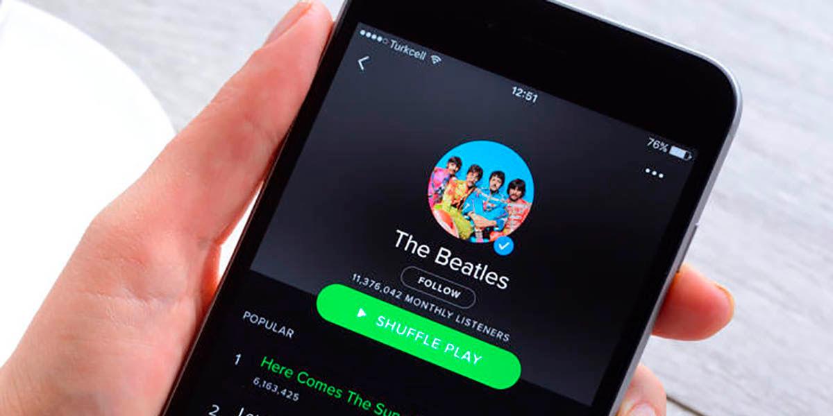 Como saber si te gusta la misma musica que a los famosos Spotify