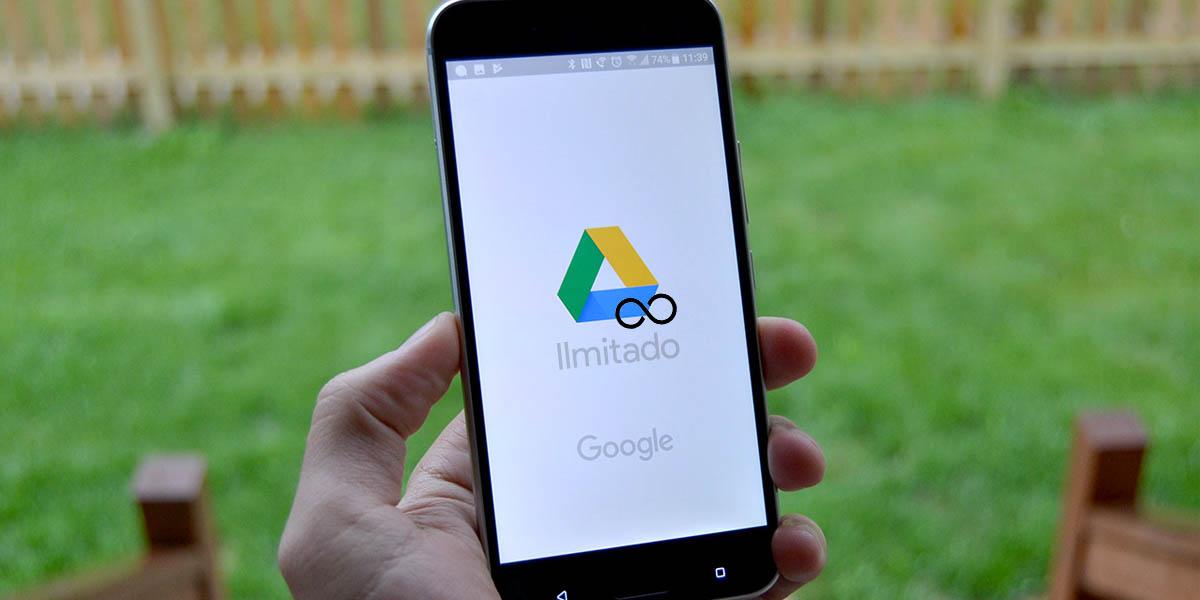 Cómo tener almacenamiento ilimitado en Google Drive barato