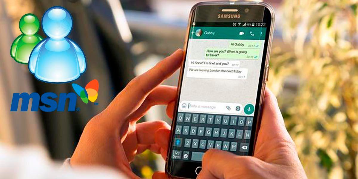 Como tener los emojis de MSN en WhatsApp