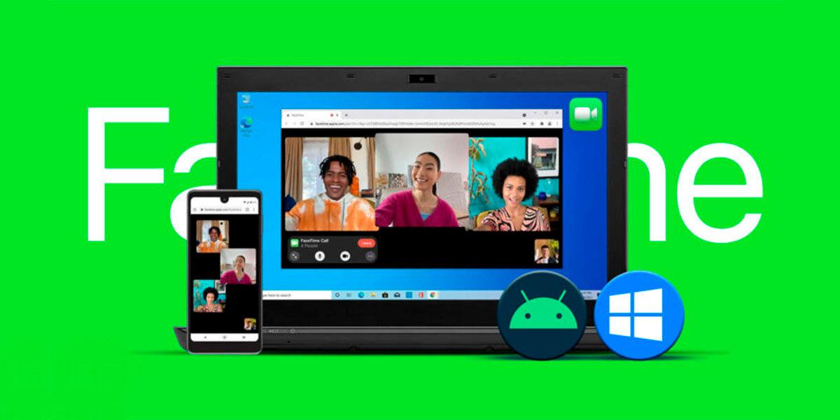 Cómo unirse llamada FaceTime Android Windows