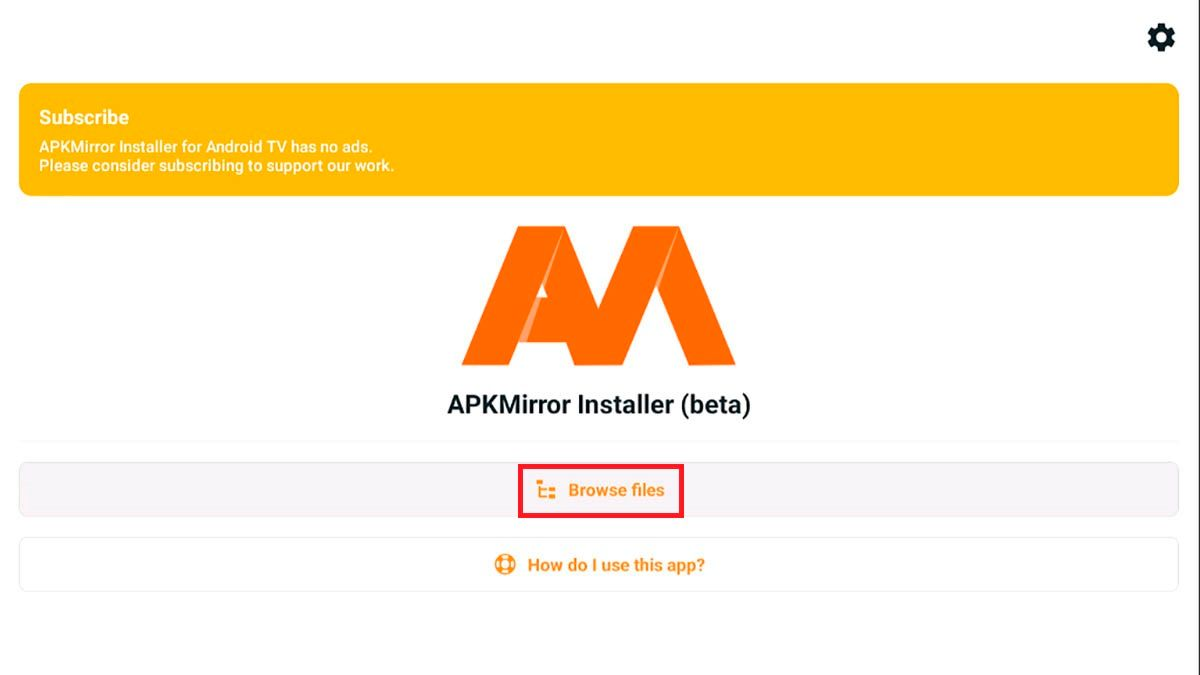 Como usar APKMirror Installer Android TV