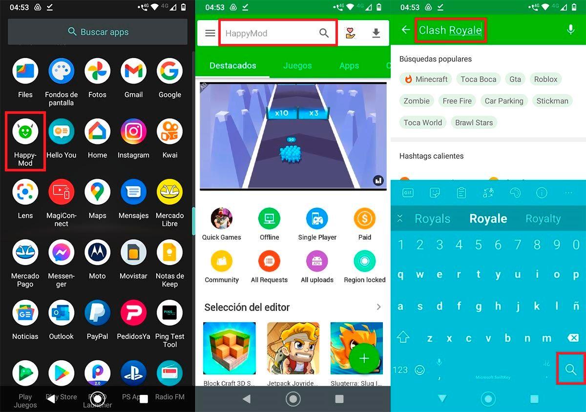 Como usar HappyMod Android