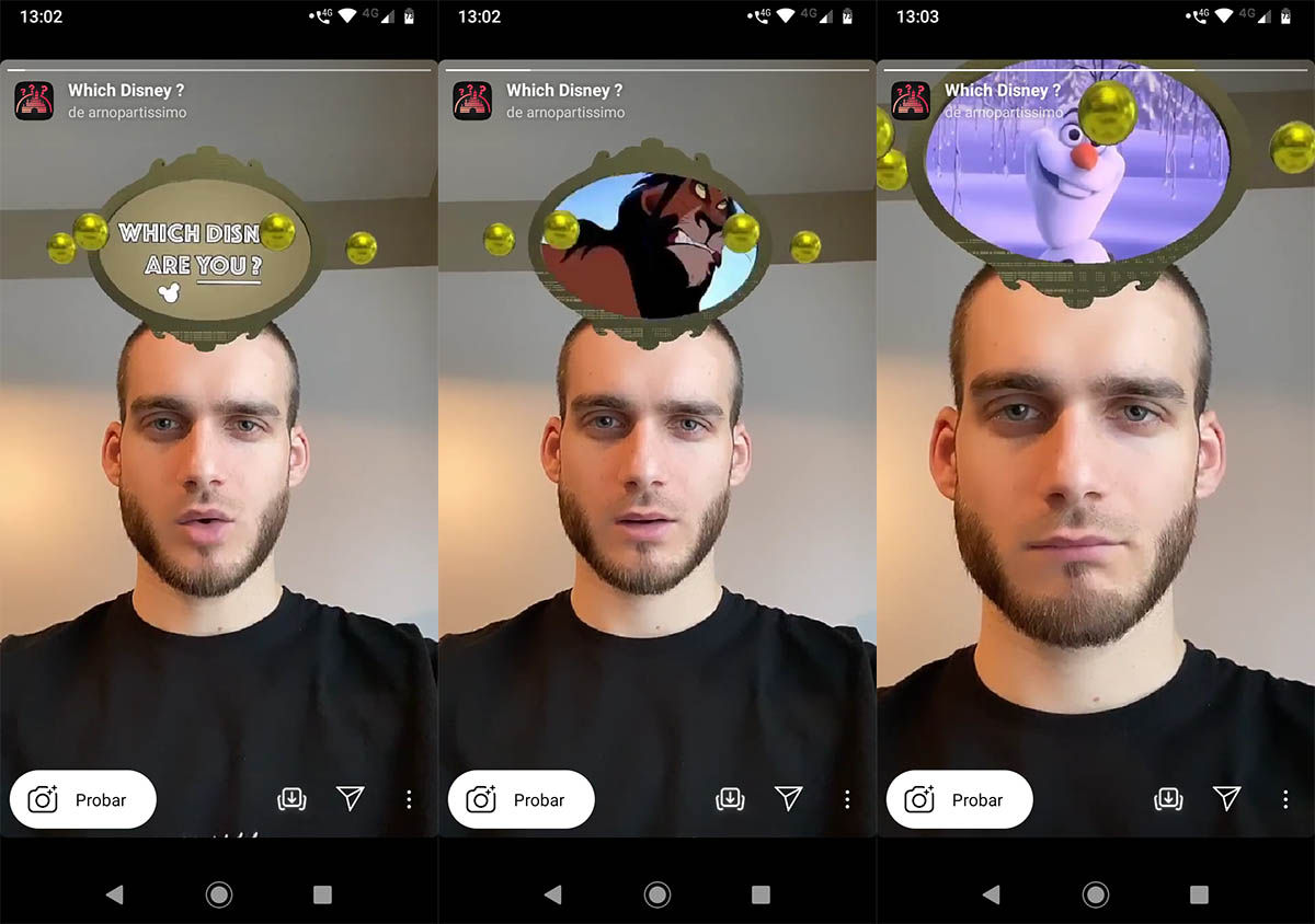 Cómo usar filtro Disney Instagram