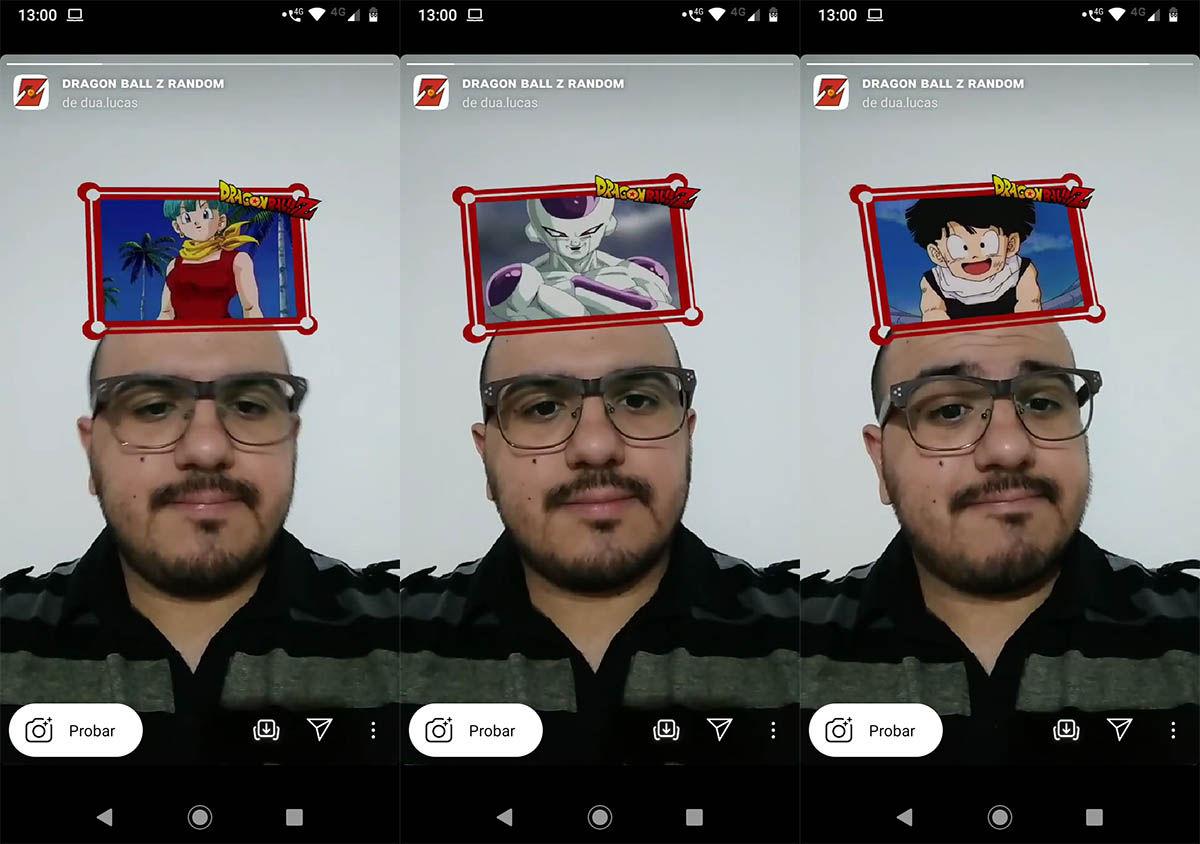 Cómo usar filtro Instagram™ Dragon Ball Z
