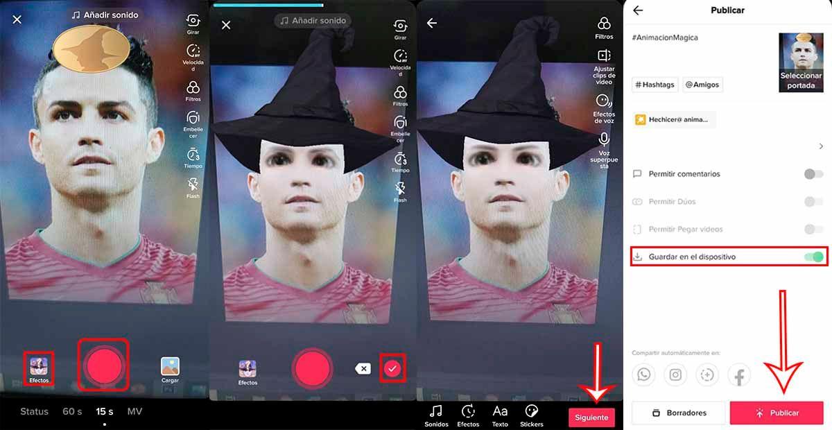 Cómo usar filtro hechicero animado TikTok