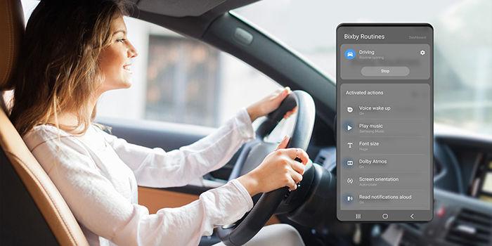 Como usar las rutinas de Bixby Galaxy S10