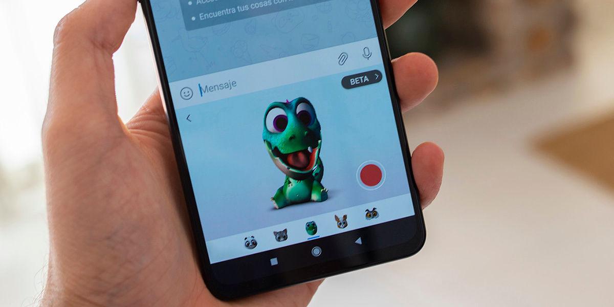 Como usar puppets emojis 3d de SwiftKey
