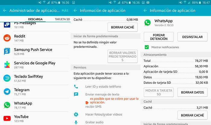 Como ver videos de YouTube WhatsApp paso 2