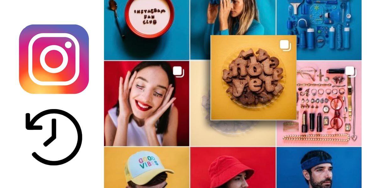 Cómo volver a mostrar una publicación archivada en tu perfil de Instagram