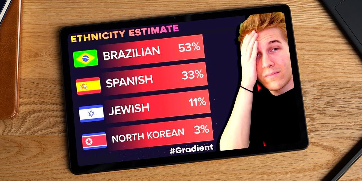 Comos saber cual es tu raza con Gradient